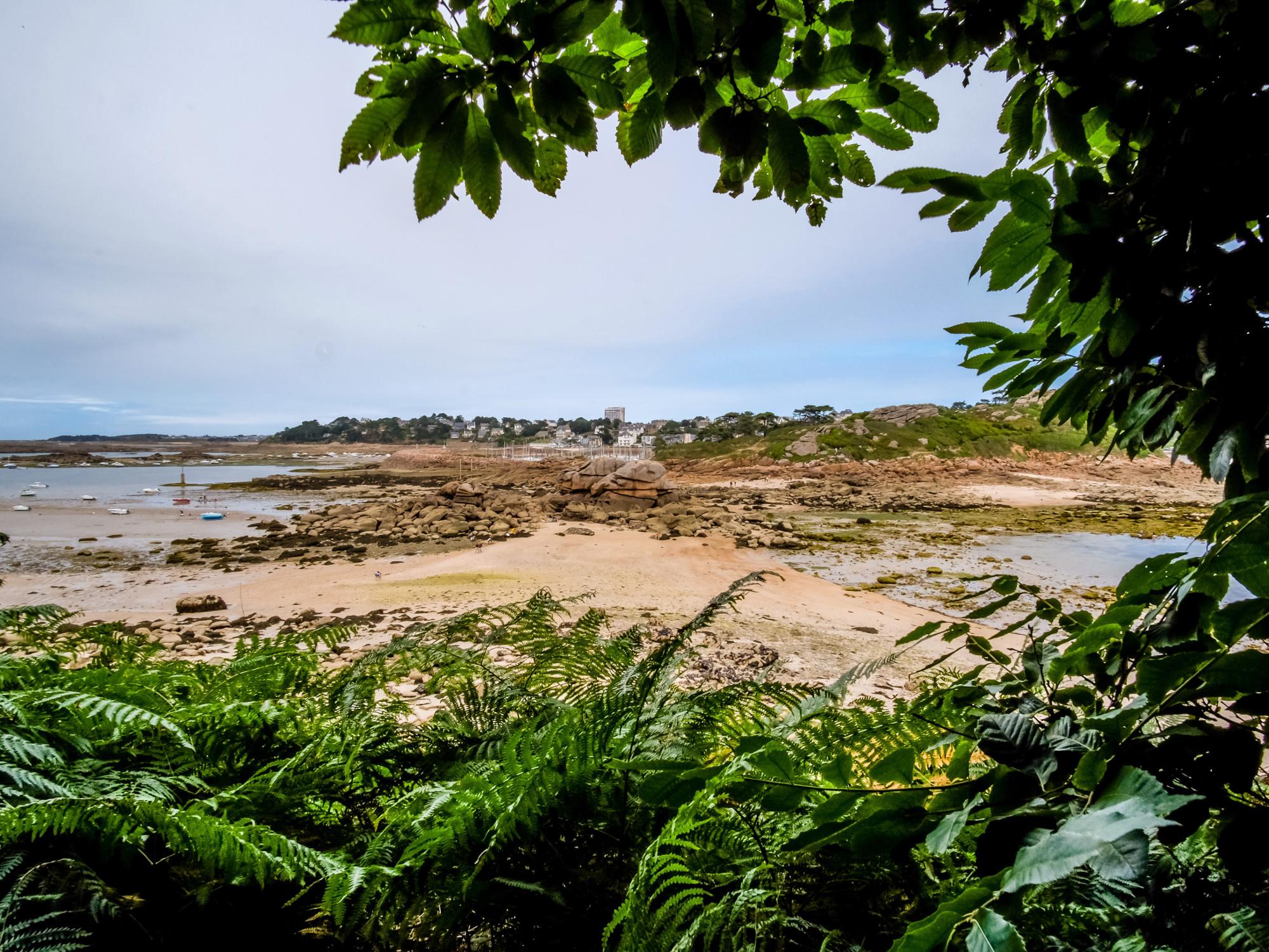 Le passage de l'Île Milliau à Trébeurden